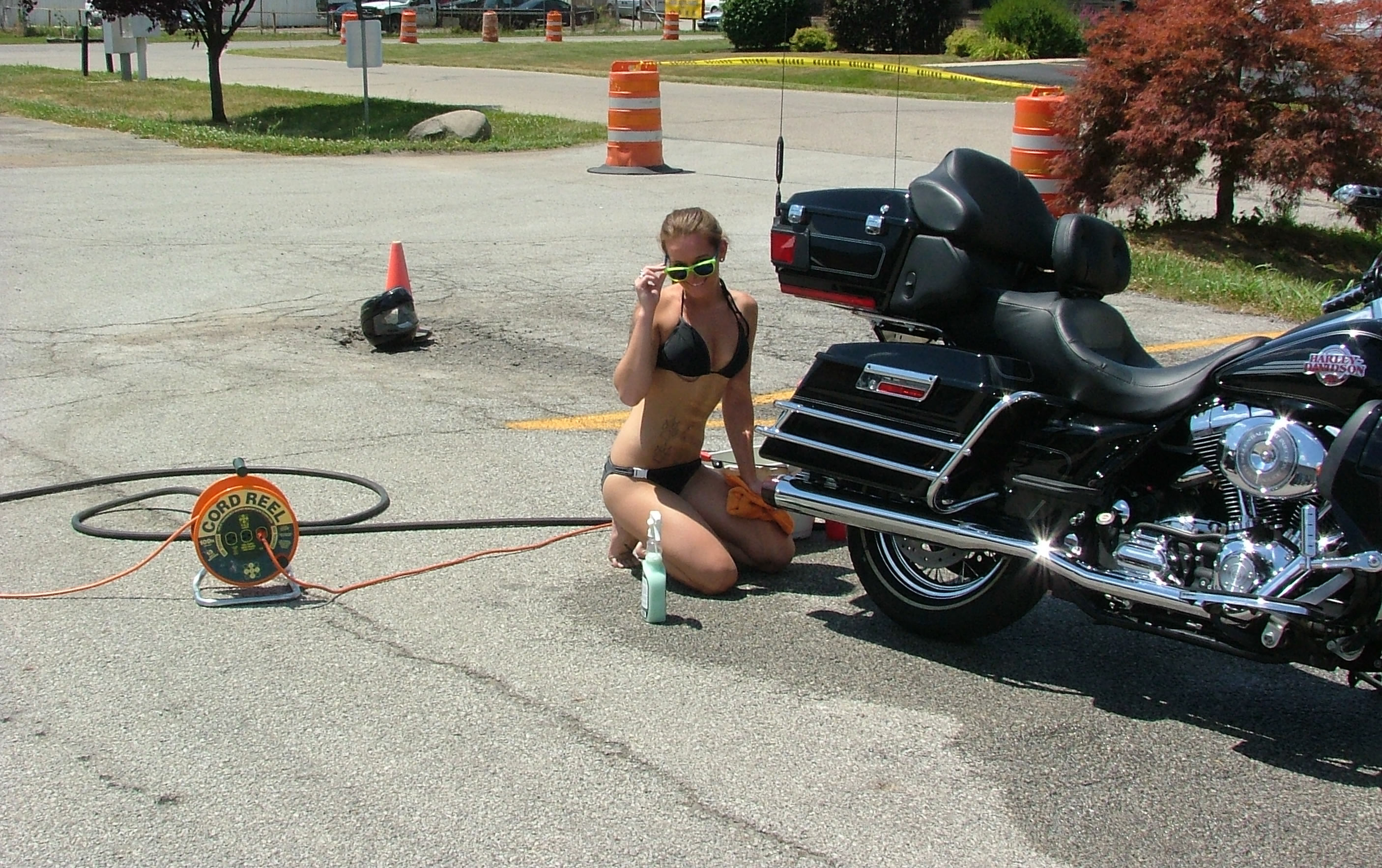 Bikini Motorcyle Bike Wash