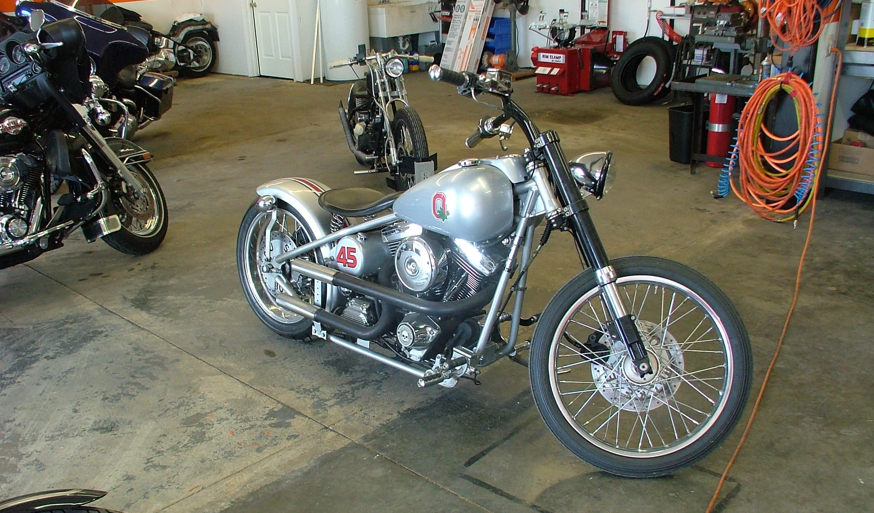 Vintage Motorcyle Build Ohio State